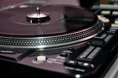 Управления turntable DJ Стоковые Изображения