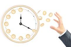 Управляйте вашим временем эффективно Стоковые Фотографии RF