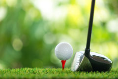 управляйте гольфом Стоковое фото RF