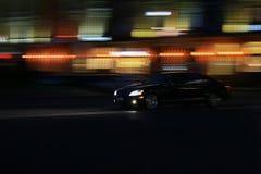 Управлять автомобиля быстро Стоковая Фотография RF