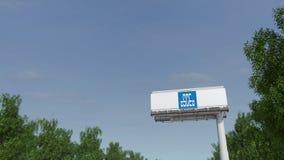 Управлять к афише рекламы с логотипом Китая Положения Конструкции Инженерства Корпорации Редакционный перевод 3D Стоковая Фотография RF