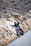Управлять мотоциклом тяпки Стоковые Изображения