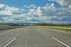 Управлять на шоссе стоковые фото