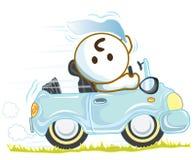 Управлять путешествием автомобиля Стоковое Изображение