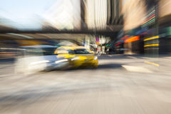 Управлять такси Стоковые Изображения