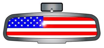 Управлять через Америку иллюстрация вектора