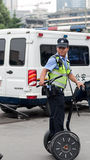 Управлять somatosensory сбалансированной полицейской машиной на обязанности Стоковая Фотография