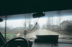 Фарфор ãin проселочной дороги Стоковые Фото