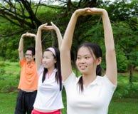 Упражнение стоковое изображение
