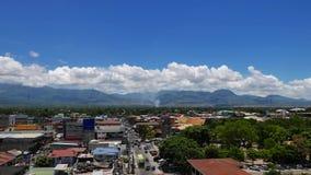 Упущение 01 горизонта города Dumaguete гипер сток-видео