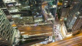 Упущение nighttime лета Торонто видеоматериал
