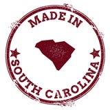 Уплотнение вектора Южной Каролины иллюстрация штока