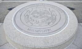 Уплотнение министерства транспорта Миссиссипи стоковая фотография rf