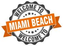 Уплотнение Miami Beach круглое Стоковая Фотография RF