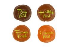 4 уплотнения для пользы в кухне или магазине Стоковые Изображения RF