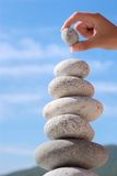 уравновешение Стоковая Фотография