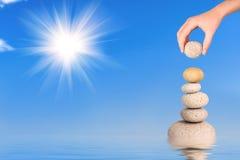 уравновешение Стоковое Фото
