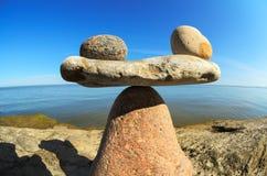 Уравновешенность камней Стоковое фото RF