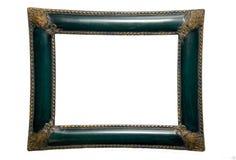 уравновешивание зеленого цвета золота рамки стоковая фотография