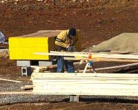 уравновешивание плотника Стоковые Изображения