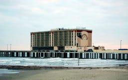 Ураган Ike столба гостиницы корабля- флагмана Стоковое Фото
