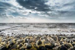Ураган niklas стоковые фотографии rf