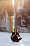 Урбанская йога Стоковое Изображение RF