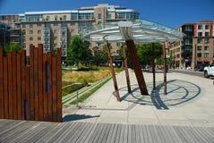 Урбанская мебель искусства и улицы, Портленд, Орегон Стоковые Фото