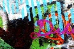 Урбанская надпись на стенах Стоковые Изображения