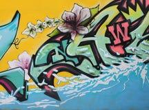 Урбанская надпись на стенах Стоковое Изображение
