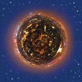 Урбанская планета Стоковое фото RF