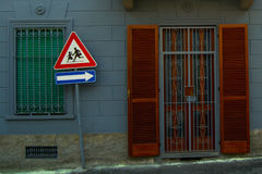 урбанские окна Стоковое Изображение RF