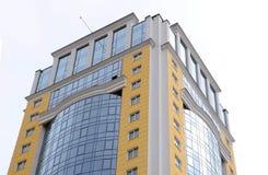 Урбанские дом или здание, картина фасада Умные квартиры положение Норвегия Осло жилого дома Стоковое Изображение RF