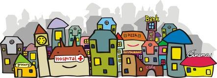 урбанский взгляд Стоковая Фотография RF