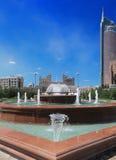Урбанский ландшафт. Астана. Казахстан. Стоковые Изображения RF