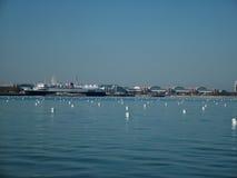 урбанский портовый район Стоковая Фотография RF