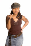 урбанское девушки сексуальное Стоковое фото RF