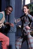 урбанское пар счастливое Стоковые Изображения RF