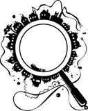 урбанское рамок круглое Стоковые Фотографии RF