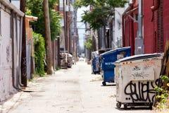 урбанское denver переулка grungy Стоковые Изображения RF