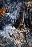 Уровень воды детали струясь Стоковое фото RF