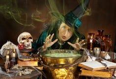 уродская ведьма Стоковое Фото