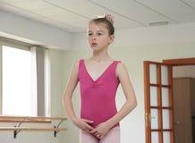 урок девушки балета Стоковое Изображение