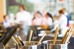 Урок кулинарии Стоковые Изображения RF