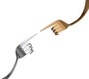 Урок кулинарии Стоковое Изображение