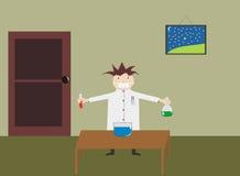 урок химий к Стоковое Изображение