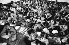 урок riga Индии hindi Стоковые Фото