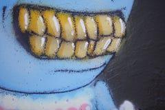 Уродские зубы Стоковое фото RF