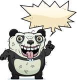 Уродский говорить панды бесплатная иллюстрация