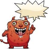 Уродский говорить дьявола бесплатная иллюстрация